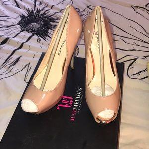 Nude/Rose Gold heels